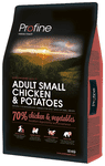 Profine Hundefoder - Adult Small Breed Chicken & Potatoes 10 kg.